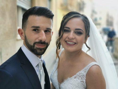 Un'esplosione di colori al matrimonio di Giusy e Daniele (foto)