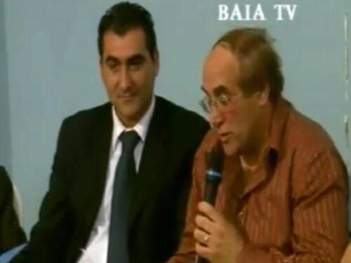 """Alberto Criscenti e Nino Barone in """"Botta e Risposta"""" a BaiaTv nel 2007 (video)"""
